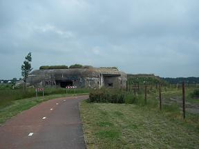 625 bunkers aan het bunkerpad tussen vlissingen en middelburg