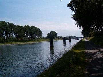 kanaal door Walcheren