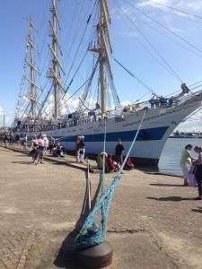 zeilschip de Mir in Vlissingen