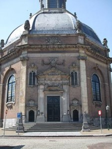 de protestantse Oostkerk in Middelburg