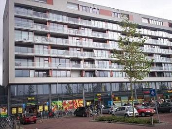 Parkstate appartementen en winkelcentrum in Middelburg