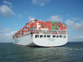 cosco faith containerschip