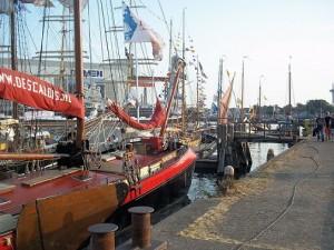 zeilschip de scaldis op evenement vlissingen maritiem