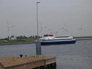 fast ferry naar veerhaven Vlissingen
