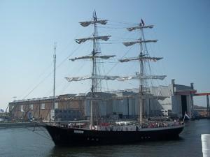zeilschip mercedes op vlissingen maritiem 2013
