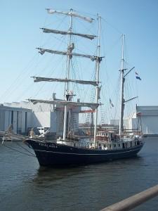 thalassa zeilschip op evenement sail vlissingen 2013
