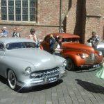 oldtimers op het vintage festival in vlissingen
