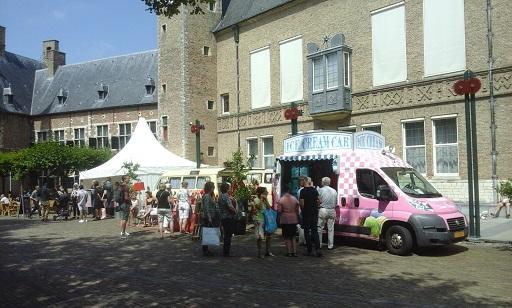 kraampjes in de abdij van Middelburg