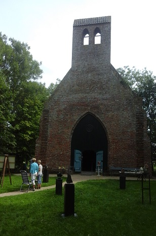 kapel met tuin Hoogelande