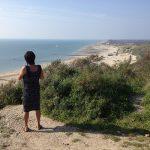 uitzicht van duinen over zoutelande