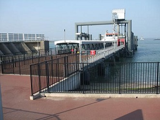 aanlegplaats ferry Vlissingen - Breskens