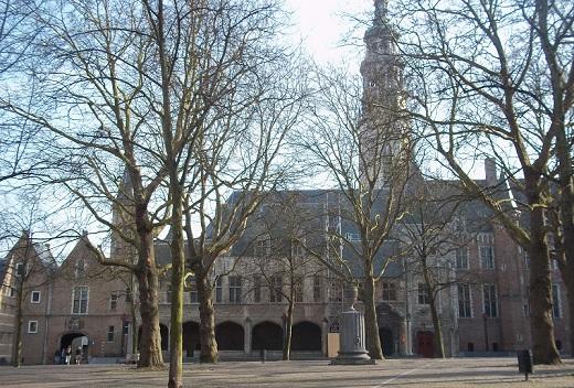 plein van abdij middelburg zeeland