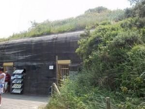 bunker een aan voet duinen-dishoek