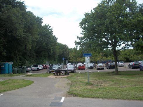 dishoek parkeren aan strandweg
