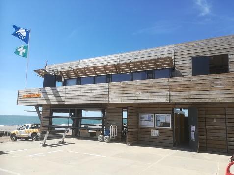 strandwacht Dishoek is geheel vernieuwd