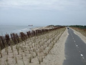 fietsroute Dishoek Vlissingen