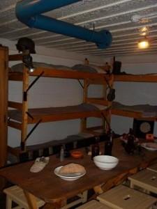 bunker voor de manschappen