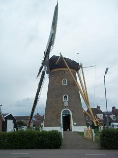 molen in Zoutelande