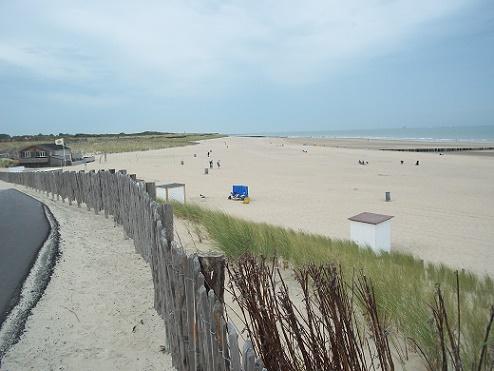 Nieuwvliet-Bad strand