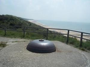 bunker op de top van het duin