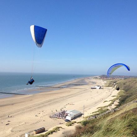 paraglider zoutelande zeeland