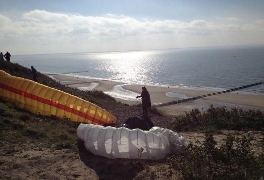 paragliding zoutelande