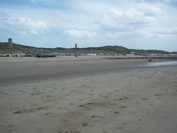 het strand van Dishoek bij Koudekerke