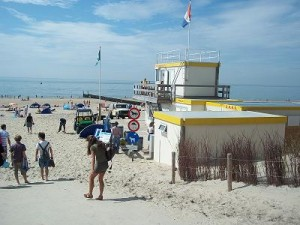 strandwacht in Dishoek