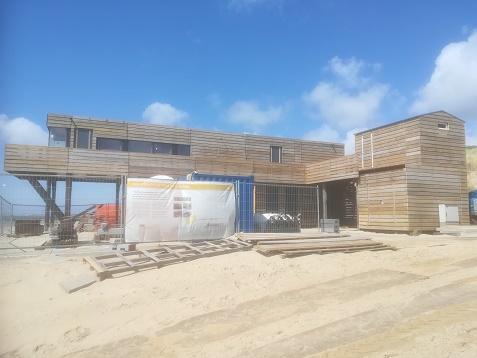 strandwachtenpost Dishoek Zeeland
