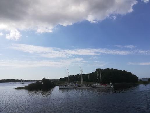 eilanden in Veerse Meer