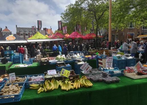 weekmarkt Middelburg is op donderdag
