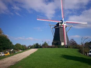 molen in Arnemuiden, Zeeland