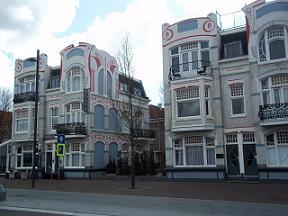 belgische loodshuizen in Vlissingen