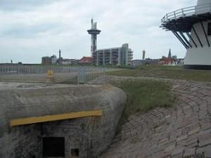 bunker bij de oranjemolen