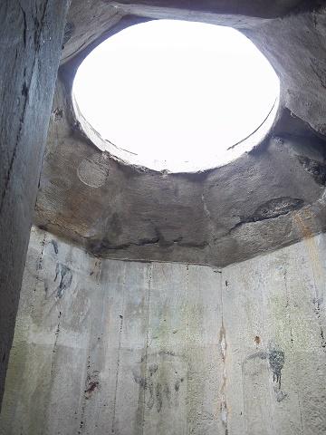 een kijkje binnenin de bunker