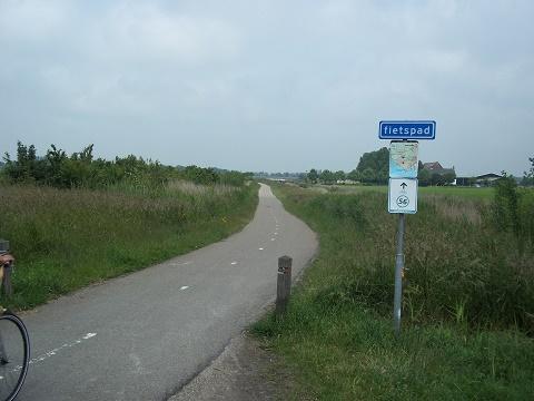 bunkerpad vlissingen middelburg fietspad
