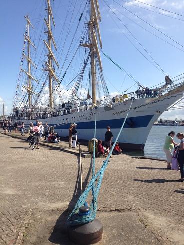 zeilschip de Mir op vlissingen maritiem 2015