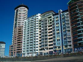 appartementengebouw deurloo op boulevard bankert in vlissingen