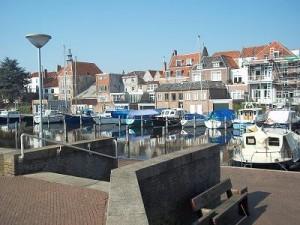 dokhaven in de jachthaven Middelburg