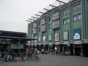 winkelcentrum de Fonteyne met de Action in Vlissingen