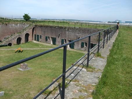 Fort Rammekens bovenzijde