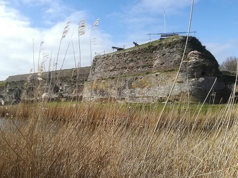 Voorzijde van Fort Rammekens