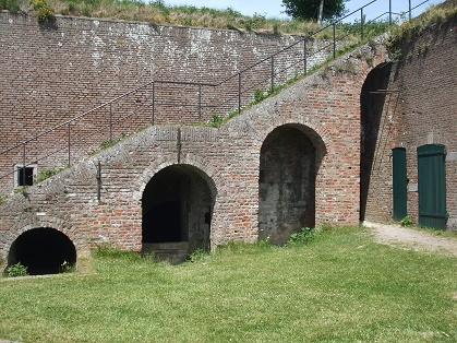 trap in het fort