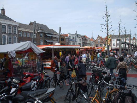 weekmarkt op Grote Markt