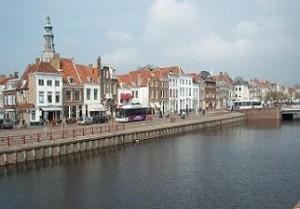 Houtkaai en Koningsbrug Middelburg