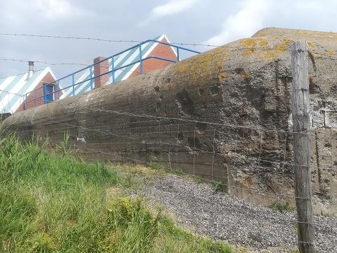 kernwerk vlissingen achterzijde bunker