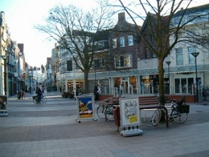 kleine markt en walstraat