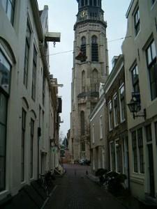 Lange Jan abdijtoren in Middelburg Zeeland