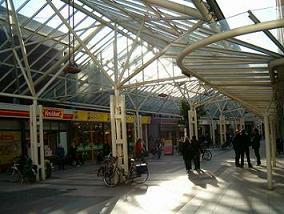 winkelstraat Lange Zelke in Vlissingen