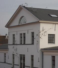 sculptuur Lichtwolke in Vlissingen